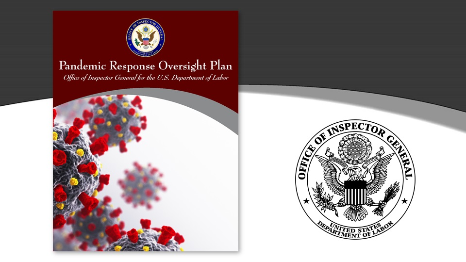 DOL-OIG Pandemic Response Oversight Plan