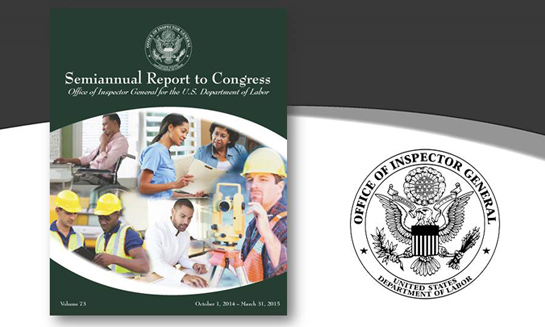Cover of Semiannual Report to Congress, Volume 73